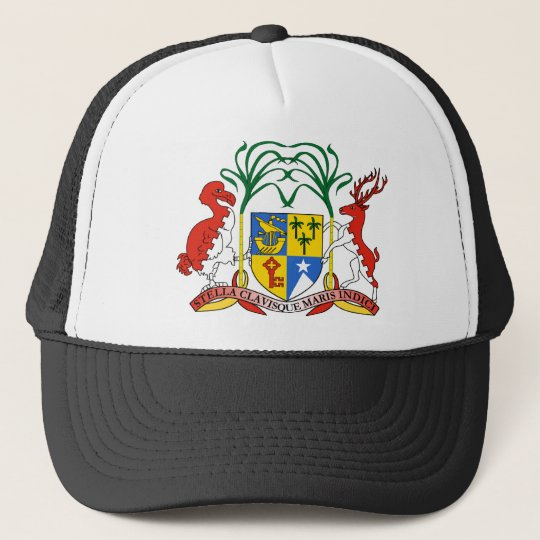 Mauritius Coat Of Arms Trucker Hat