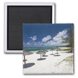 Mauritius, Eastern Mauritius, Belle Mare, 2 Inch Square Magnet
