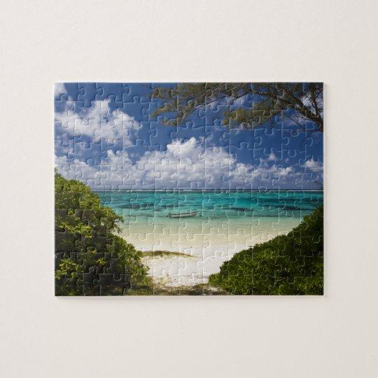 Mauritius, Eastern Mauritius, Belle Mare, East Jigsaw Puzzle