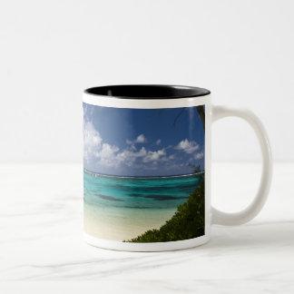 Mauritius, Eastern Mauritius, Belle Mare, East Two-Tone Coffee Mug