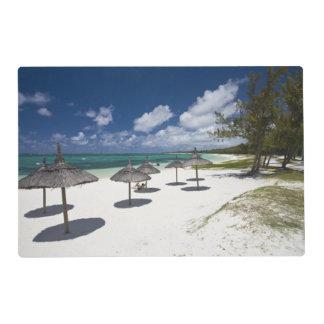 Mauritius, Eastern Mauritius, Belle Mare, Laminated Place Mat