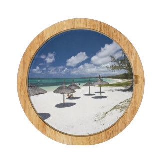 Mauritius, Eastern Mauritius, Belle Mare, Round Cheese Board