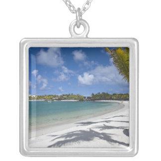 Mauritius, Eastern Mauritius, Trou d' Eau Douce, Silver Plated Necklace