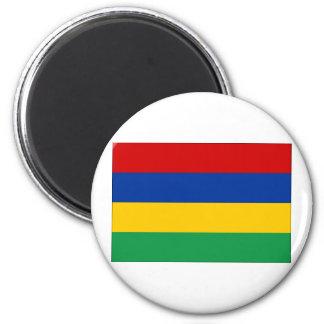 Mauritius Flag 2 Inch Round Magnet