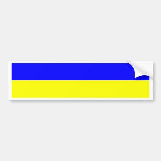 Mauritius Flag Car Bumper Sticker