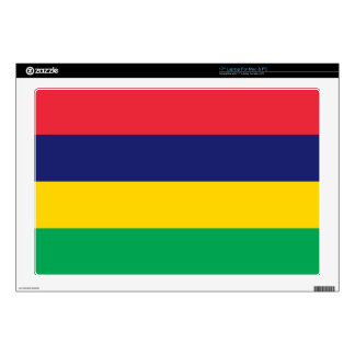 Mauritius Flag Laptop Skins