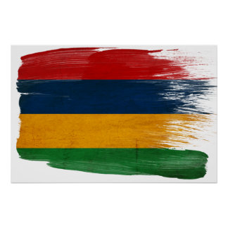 Mauritius Flag Posters
