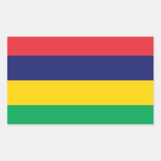 Mauritius* Flag Sticker