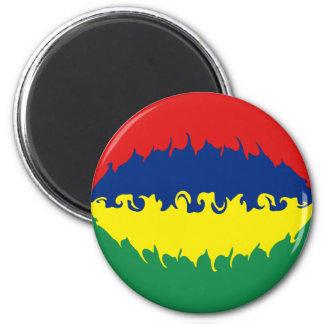 Mauritius Gnarly Flag Magnet