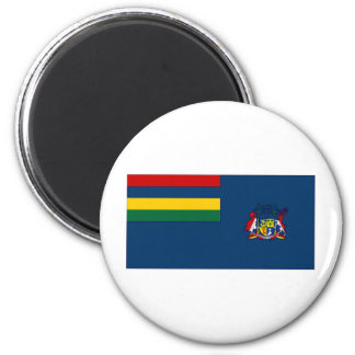 Mauritius Government Ensign 2 Inch Round Magnet