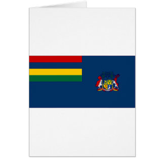 Mauritius Government Ensign Card