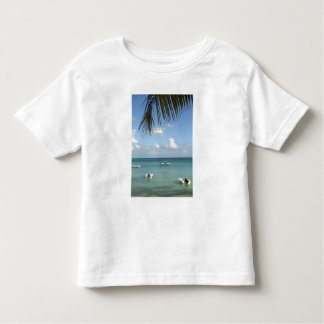 Mauritius, Grand Baie. Boats anchored in the Toddler T-shirt