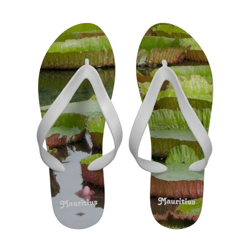 Mauritius Lily Pads Flip-Flops