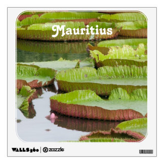Mauritius Lily Pads Room Graphics