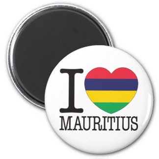 Mauritius Love v2 2 Inch Round Magnet