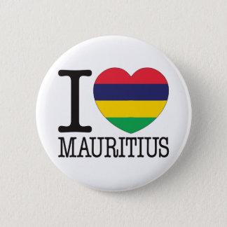 Mauritius Love v2 Pinback Button