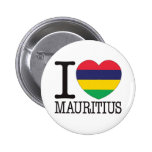 Mauritius Love v2 Pinback Buttons