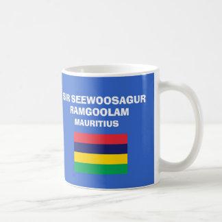 Mauritius* MRU International Airport Classic White Coffee Mug