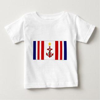 Mauritius Naval Ensign Baby T-Shirt