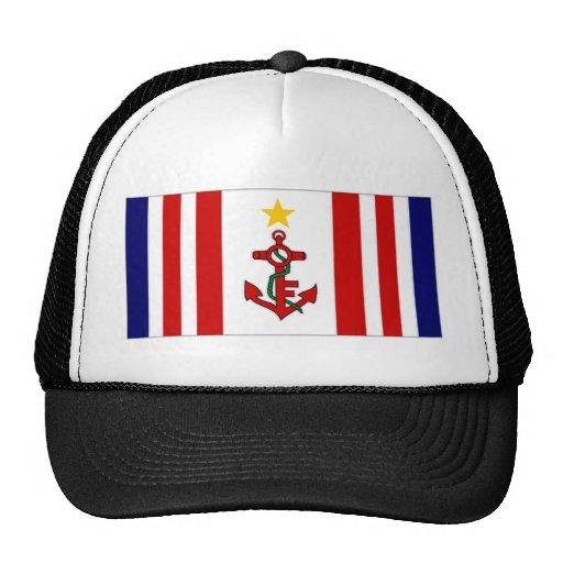 Mauritius Naval Ensign Trucker Hat