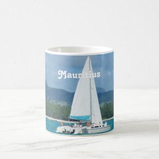 Mauritius Sailing Classic White Coffee Mug