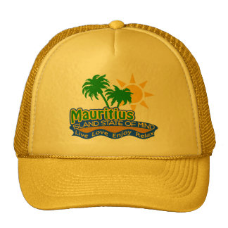 Mauritius State of Mind hat - choose color