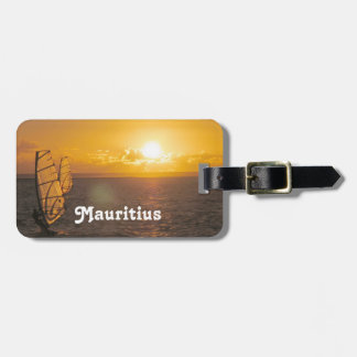 Mauritius Sunset Luggage Tags