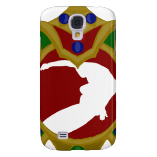 Mauritius Surfing.png Galaxy S4 Case