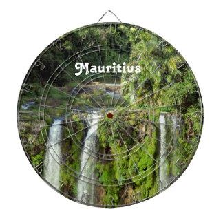 Mauritius Waterfalls Dartboard