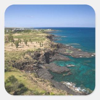 Mauritius, Western Mauritius, Belle Vue, Ocean Square Sticker