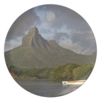 Mauritius, Western Mauritius, Tamarin, Montagne Melamine Plate
