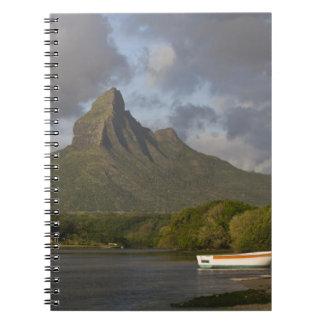 Mauritius, Western Mauritius, Tamarin, Montagne Spiral Notebook