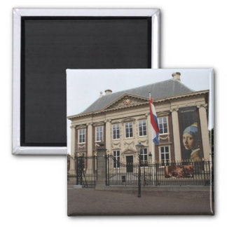Mauritshuis 2 Inch Square Magnet