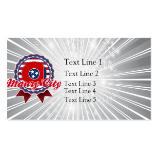 Maury City, TN Double-Sided Standard Business Cards (Pack Of 100)