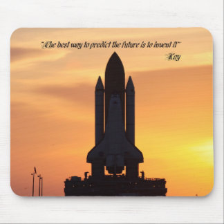 """MAUS Pad,""""The best...predict...future...invent it"""" Mouse Pad"""