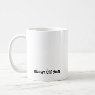 Mauser C96 9mm Classic White Coffee Mug
