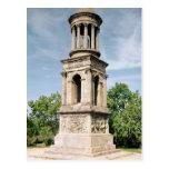 Mausoleo a la familia de Julii, c.30-20 A.C. Tarjeta Postal