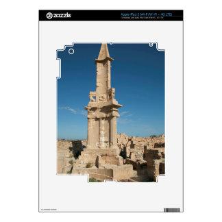 Mausoleo de Bes, Sabratha, distrito de Az Zawiyah Pegatina Skin Para iPad 3