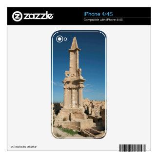 Mausoleo de Bes, Sabratha, distrito de Az Zawiyah Skins Para eliPhone 4S