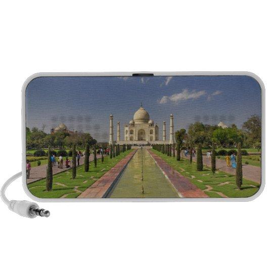 Mausoleo del Taj Mahal/Agra, la India 2 Portátil Altavoces