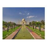 Mausoleo del Taj Mahal/Agra, la India 2 Postal