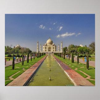 Mausoleo del Taj Mahal/Agra, la India 2 Póster