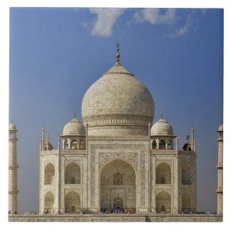 Mausoleo del Taj Mahal/Agra, la India Azulejo Cuadrado Grande
