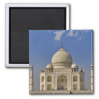 Mausoleo del Taj Mahal/Agra, la India Imán Cuadrado