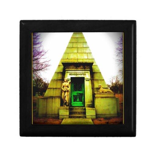 Mausoleo egipcio cajas de recuerdo