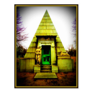 Mausoleo egipcio postal