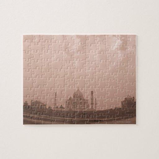 'Mausoleo en la orilla, el Taj Mahal, Agra, 2 Rompecabeza