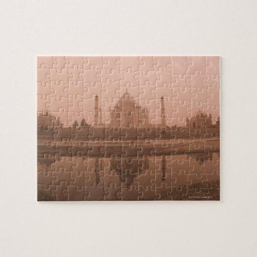 Mausoleo en la orilla, el Taj Mahal, Agra Rompecabezas Con Fotos