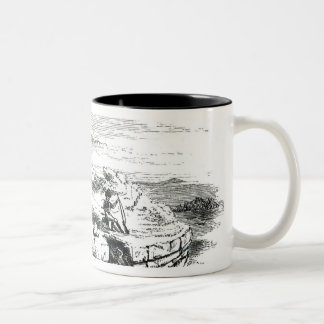 Mausoleo on the Montarozzi Two-Tone Coffee Mug