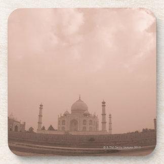 'Mausoleum at the riverside, Taj Mahal, Agra, 2 Beverage Coaster